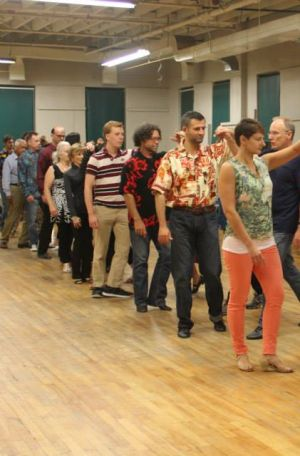 West Coast Swing class